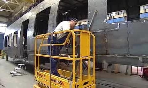 Výroba tramvaje