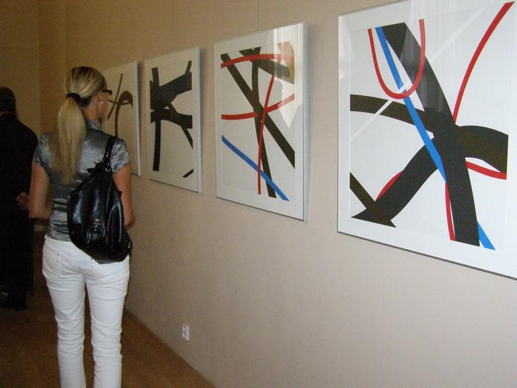 Zdeněk Sýkora - výstava grafik
