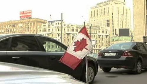 Kanadští diplomaté v Moskvě