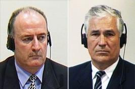 Veselin Šljivančanin a Mile Mrkšić