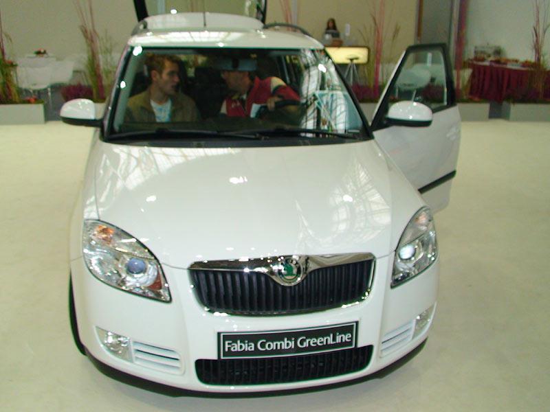 Škoda Fabia Combi GreenLine