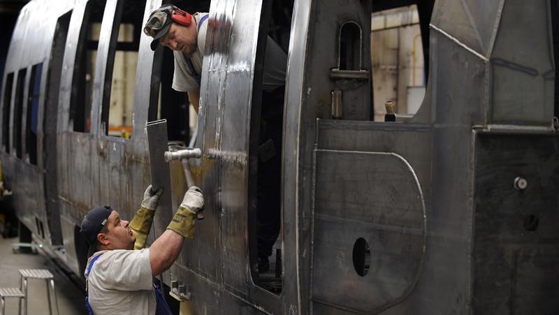 Výroba vagonu