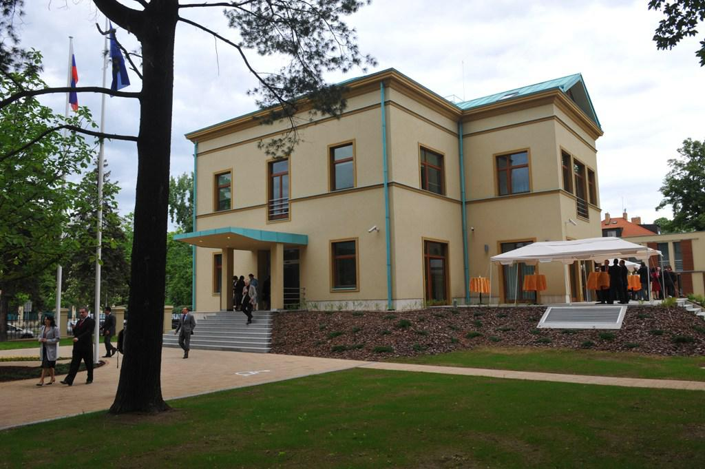 Nové slovenské velvyslanectví