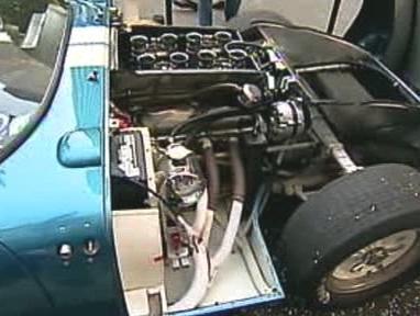 Motor Shelby Cobra