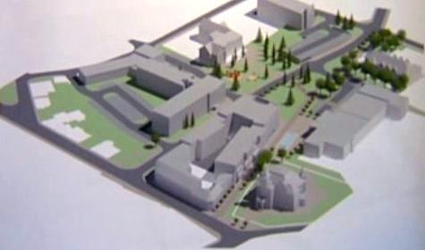 Projekt výstavby druhého náměstí