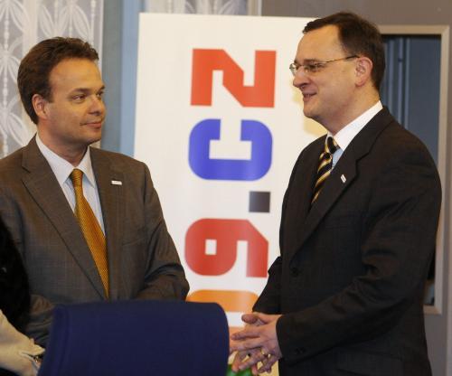 Sven Otto Littorin a Petr Nečas
