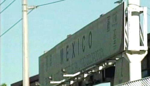 Mexická hranice