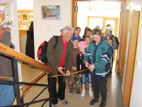 Symbolické otevření výstavy