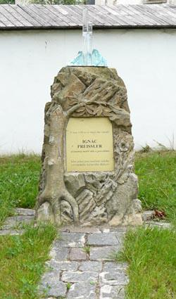 Ignác Preissler - pomník