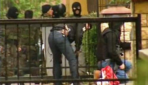 Zásah turecké policie