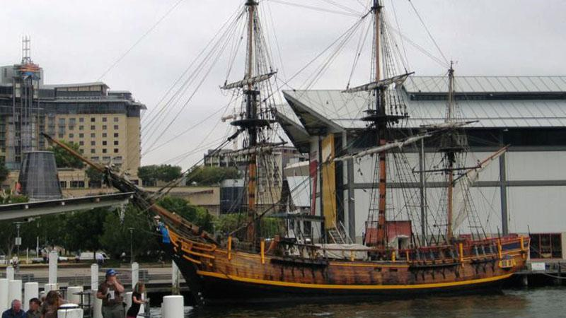 Legendární loď Bounty