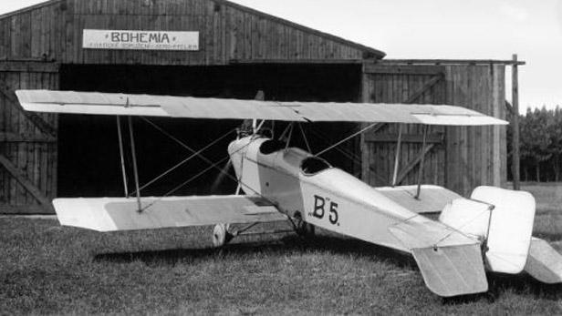 Dvouplošník Bohemia B-5