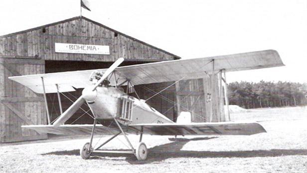 První letadlo české výroby