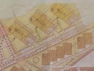 Plán zástavby lokality Na Dolině