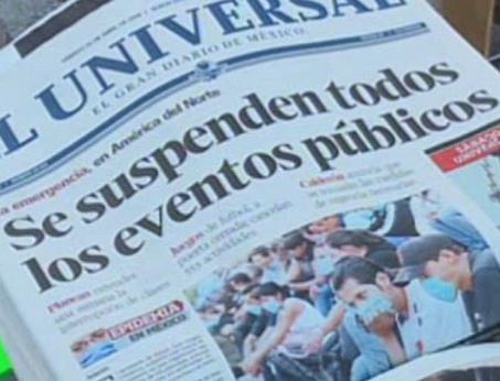 V Mexiku se ruší veřejné akce