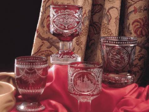 Egermann: Repliky historických pohárů