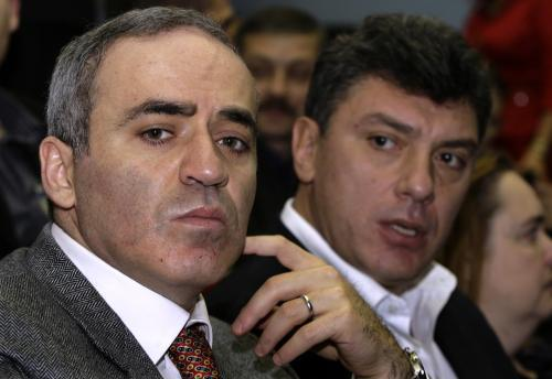 Garri Kasparov a Boris Němcov