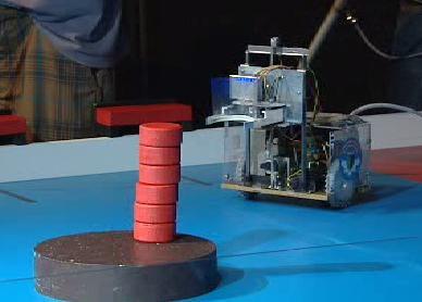 Robot staví chrám v Atlantidě