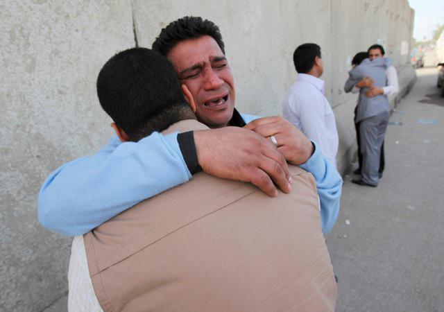 Žal za oběti iráckého násilí