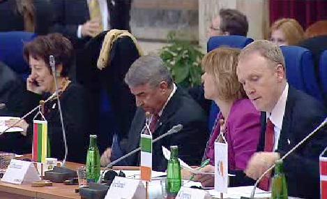 Setkání ministrů v Mariánských Lázních