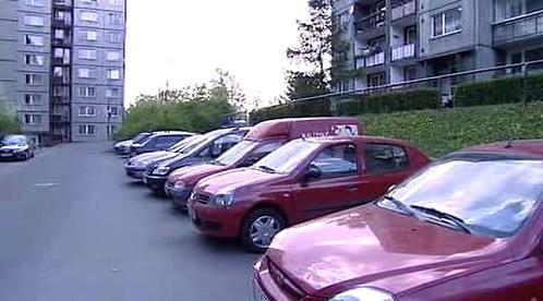 Parkování v Rochlicích