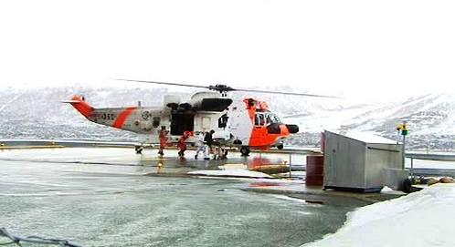 Záchranný vrtulník