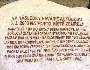 Památník u Nažidel