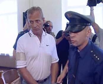 Petr Krbec u soudu