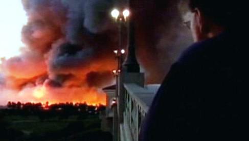 Požár v Jižní Karolíně