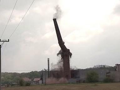 Odstřel komína