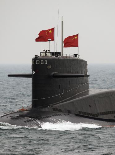 Čínská jaderná ponorka