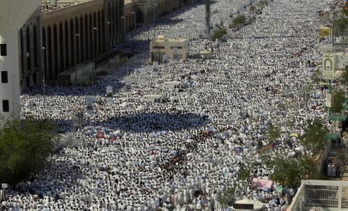 Pouť do Mekky vrcholí
