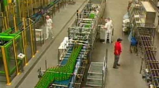 Továrna v Polsku