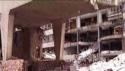 Následky bombardování Jugoslávie
