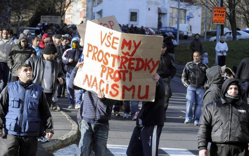 Pochod proti demonstraci Dělnické strany