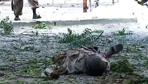 Oběť bojů v Somálsku
