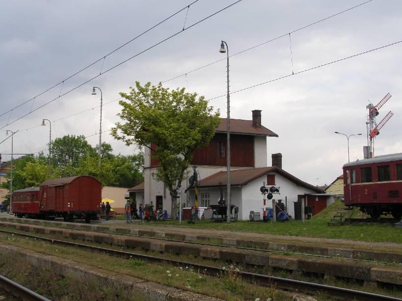 Pardubice - Rosice n. L. nádraží