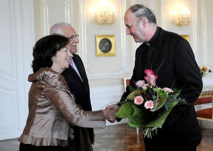 Prezidentský pár s Janem Graubnerem