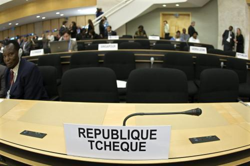 Česko opustilo konferenci OSN