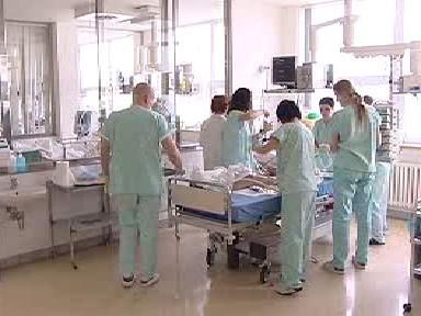 Operační sál pardubické nemocnice