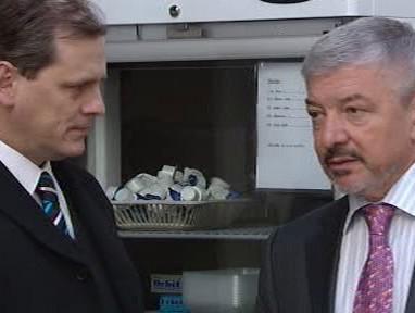 Jan Schwippel a Vladimír Železný