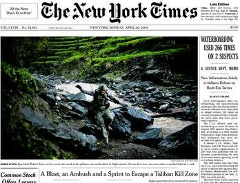 Titulek New York Times