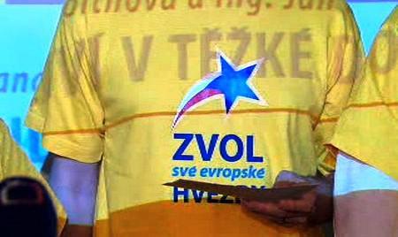 Volební triko KDU-ČSL