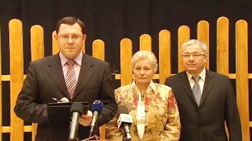 Tisková konference KDU-ČSL