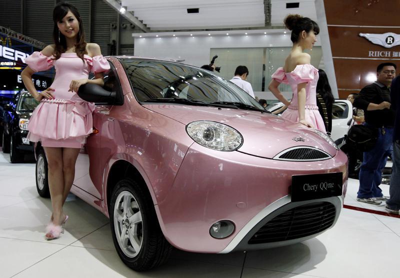 Autosalon v Šanghaji
