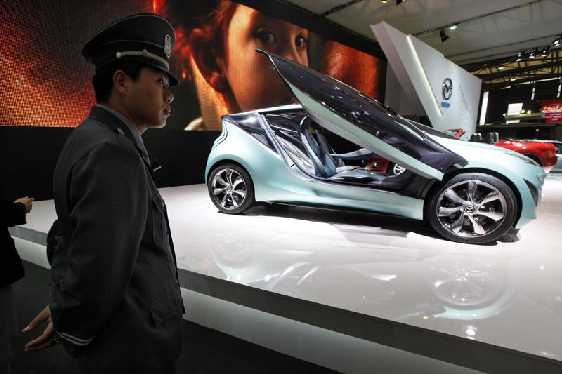 Automobilka Mazda na výstavě v Šanghaji
