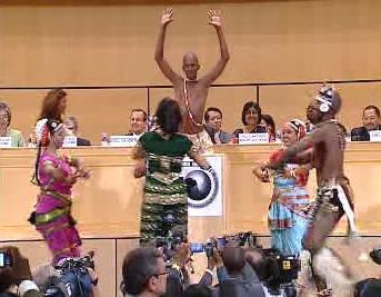 Zahájení konference OSN
