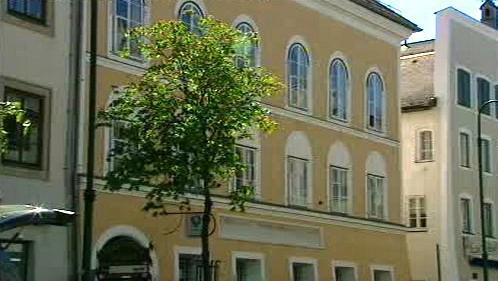 Hitlerův rodný dům v Braunau