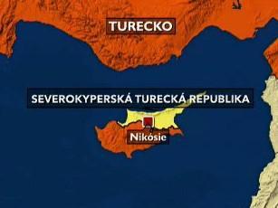 Mapa Kypru