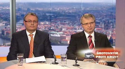 Vladimír Dlouhý a Jaroslav Míl